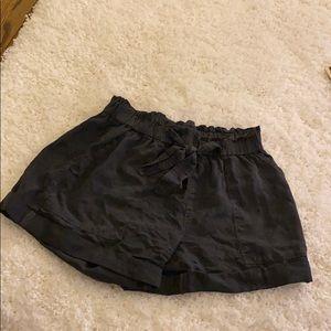 Brand new dark gray shorts